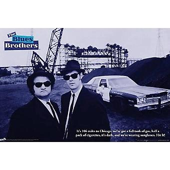 Blues Brothers Quote Poster Poster Print