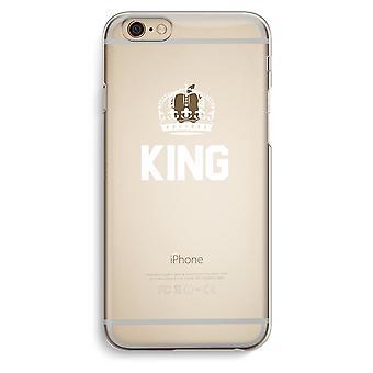 قضية فون 6 6s شفافة (الناعمة)--الأسود الملك