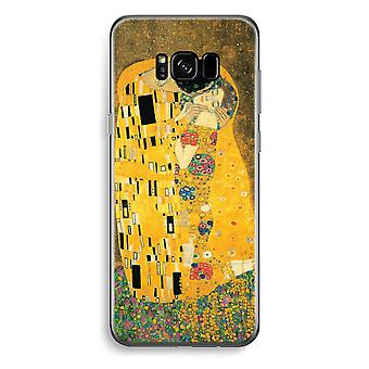 Samsung Galaxy S8 Transparent Case (Soft) - Der Kuss
