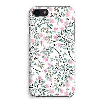 iPhone 8 Full Print Case (Glossy) - Dainty flowers