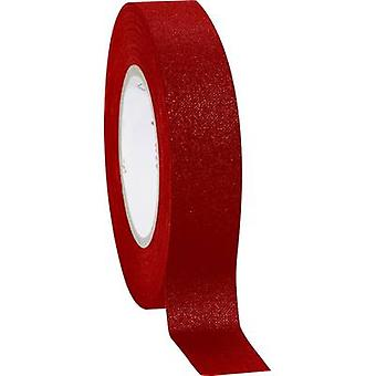 Cloth tape Coroplast Red (L x W) 10 m x 15 mm Nat