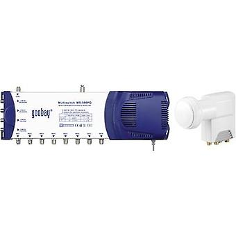 SAT multiswitch Goobay MS 508 PQ Inputs (multiswitches): 5 (4 SAT/1 terrestria
