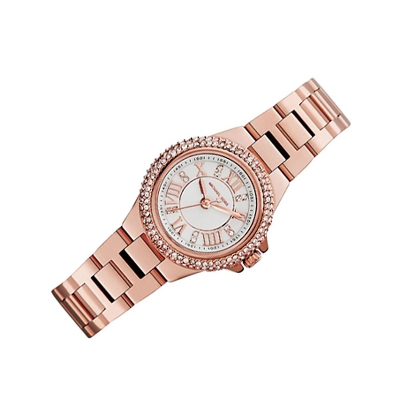 2241c6cb3401 Michael Kors Ladies Watch Mini Camille Petite Rose Gold MK3253