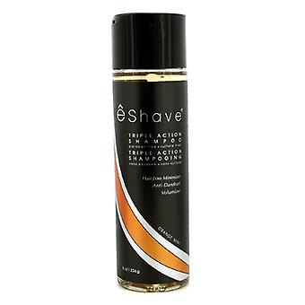 EShave Triple Action Shampoo - hortelã laranja 226g / 8oz