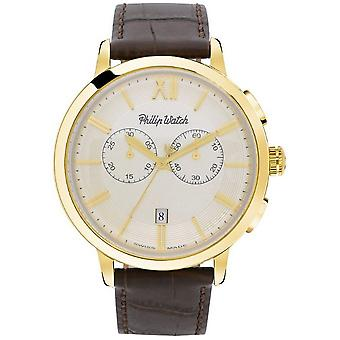 Philip watch mens watch Grand Archives 1940 chronograph R8271698006