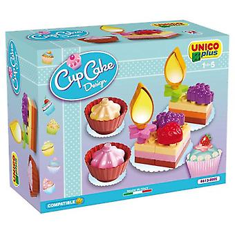 Unico Plus Cup Cake Design Dessert Cakes 20 Pieces