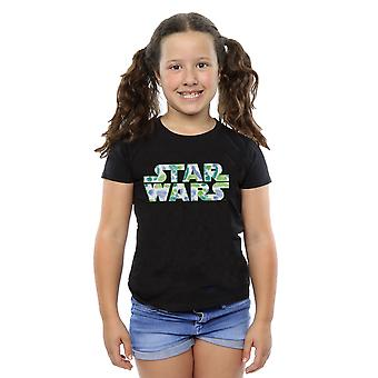 Star Wars Girls Palm Logo T-Shirt