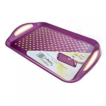 Wham Anti Slip Plastic Serving Tray (Assorted Colours)***