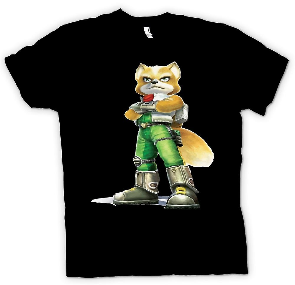 Womens T-shirt - Star Fox - Fox McCloud Classic Gamer