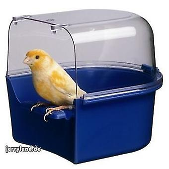 Ferplast Trevi Bird Bath Covered Canary 14x15x13cm x 7 pack