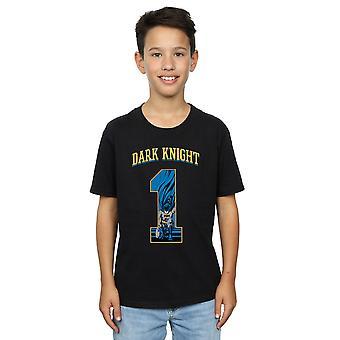 DC Comics Boys Batman Football Dark Knight T-Shirt