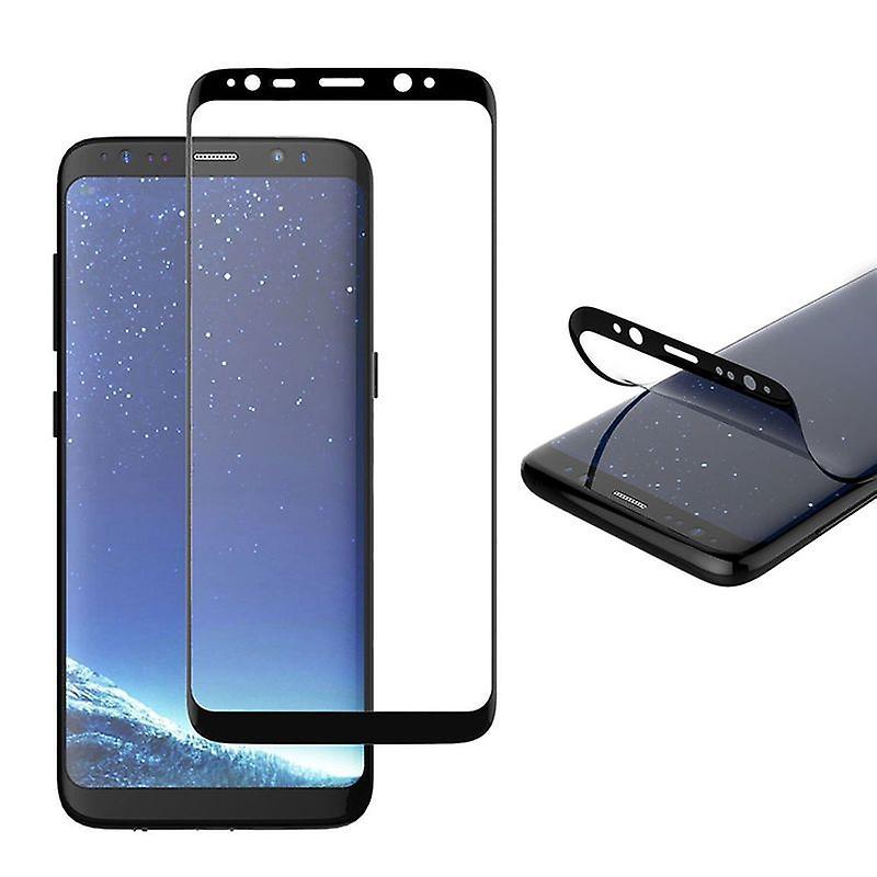 Hybrid TPU Premium gebogene Panzerfolie Schwarz Folie für Samsung Galaxy Note 9 N960F