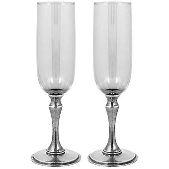 Vogue Champagne Flutes Set of 2 - 170ml