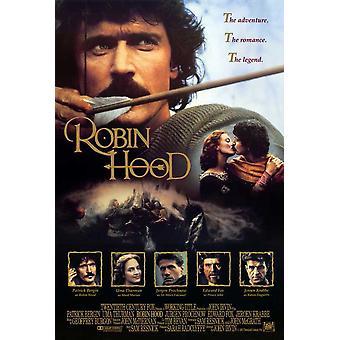 Poster do filme de Robin Hood (11 x 17)