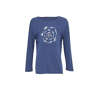 Cyberjammies 6298 Men's Finn Blue Pajama Pyjama Top