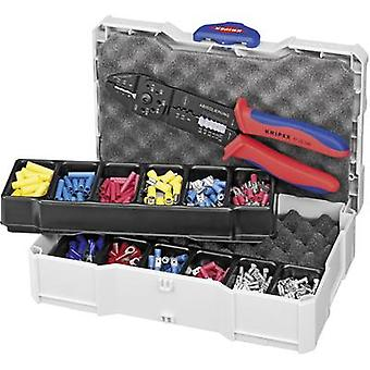 Crimper set 301-piece Insulated cable lugs, Non-insulated connectors, Blade terminals, Blade terminal receptacles, Insul