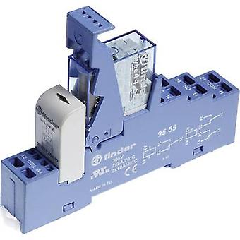 Finder 48.81.7.024.0050 Relay component 1 pc(s) Nominal voltage: 24 Vdc Switching current (max.): 16 A 1 change-over