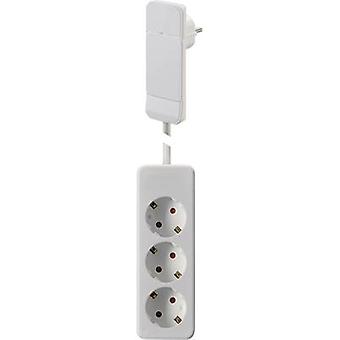 NVB 104556 Socket strip (w/o switch) White CEE plug