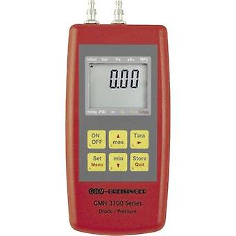 GREISINGER GMH3161 - 07H manómetro presión de aire, gases no corrosivos, gases corrosivos -0.001 - 0.07 bar