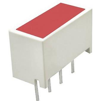 الصمام مصفوفة 4 x الأحمر (L × العرض × العمق) 10 مم × 10 مم KB2655ID كينجبرايت
