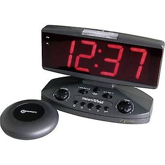 Geemarc JWNSGTI+-ANTIG Quartz Alarm clock Black
