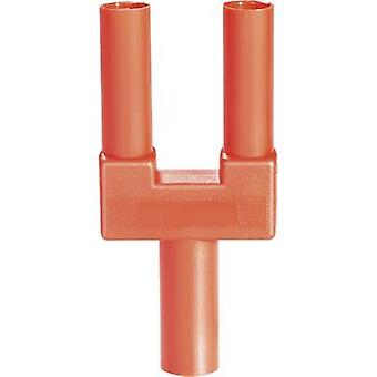 Safety shorting plug Red Pin diameter: 4 mm Dot pitch: 19 mm Schnepp SI-FK 19/4 mB rt 1 pc(s)