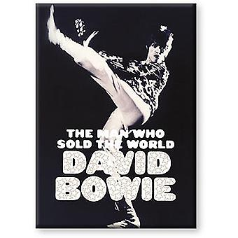 David Bowie Man Who Sold The World Fridge Magnet