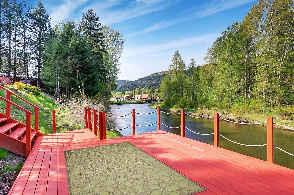 Tapijt Voor Balkon : Buiten tapijt voor terras balkon green hedendaagse fiore groen