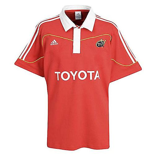 ADIDAS munster home supporter rugby shirt