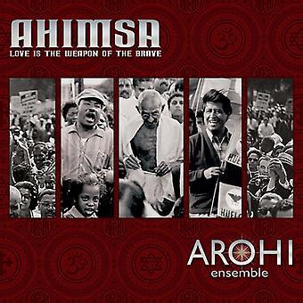 Livingstone / Arohi Ensemble - Ahimsa - Love Is the Weapon of the Brave [CD] USA import