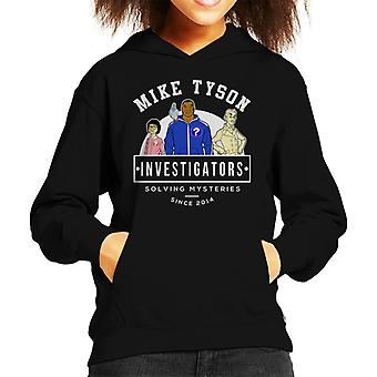 Mike Tyson Investigations Kid's Hooded Sweatshirt