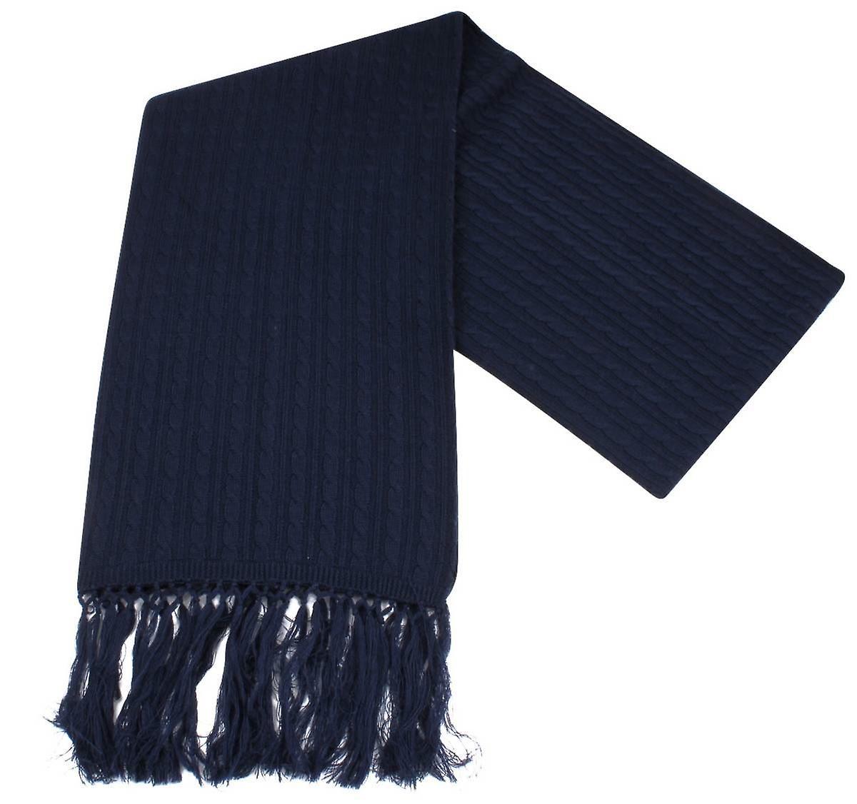 Knightsbridge cravates Knitted Wool Svoituref - Navy
