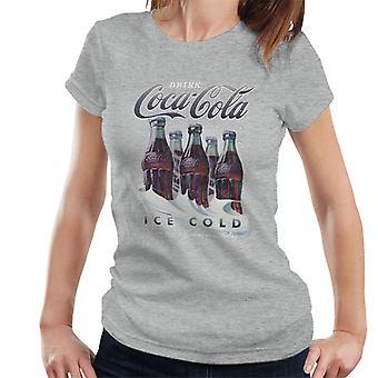 Coca Cola Winter Bottles Women's T-Shirt