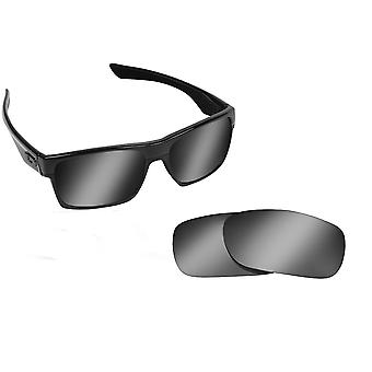 Best SEEK OPTICS Replacement Lenses for Oakley TWOFACE Black Iridium