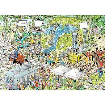 Jan Van Haasteren The Film Set Jigsaw Puzzle (1000 Pieces)
