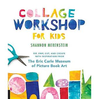 Collage Workshop for Kids - Rip - snip - cut - and create with inspira