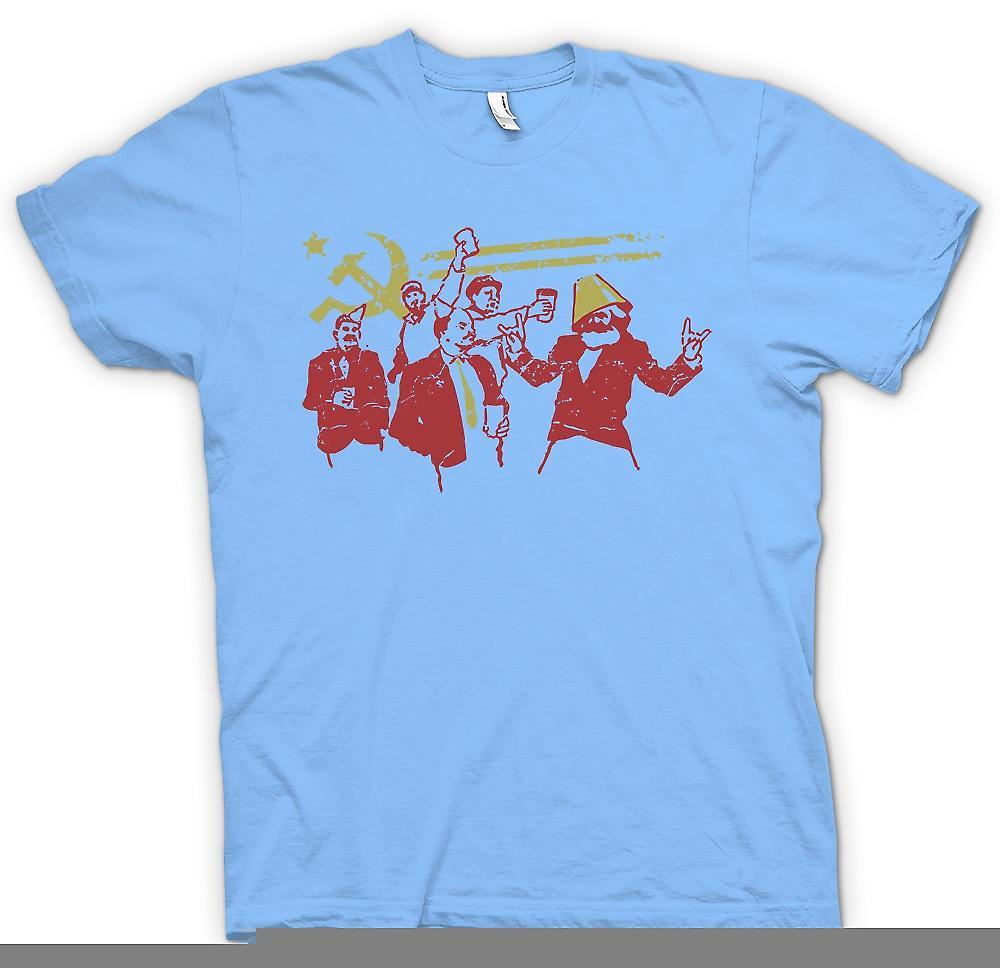 Mens T-shirt - communisme - Marx Lénine Staline - Russie