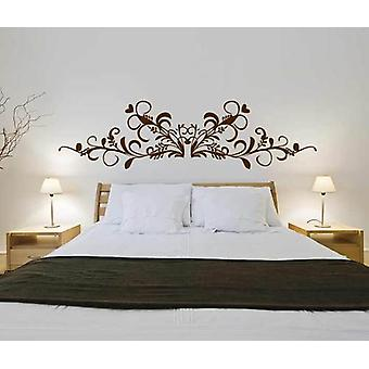 Baroque Headboard V3 Wall Decal