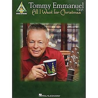 Tommy Emmanuel - All I Want for Christmas (gitarr inspelade versioner)