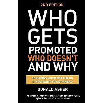 Qui reçoit le promu, qui n'est pas et pourquoi, deuxième édition: 10 choses, vous feriez mieux faire si vous voulez aller de l'avant