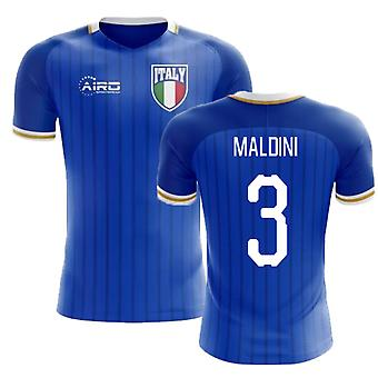 2018-2019 Italy Home Concept Football Shirt (Maldini 3)