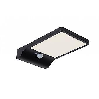 Lucide Basic rettangolo moderno plastica nero applique