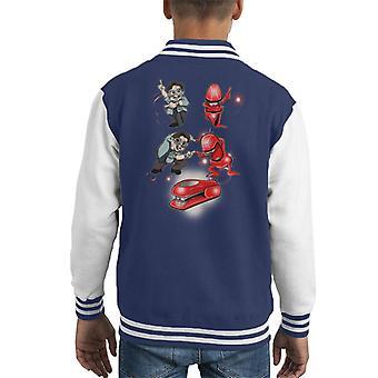 Miltons Revenge Office Space Kid's Varsity Jacket