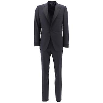 Tom Ford Blue Wool Suit