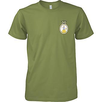 HMS Southampton - ontmanteld Koninklijke Marine schip T-Shirt kleur