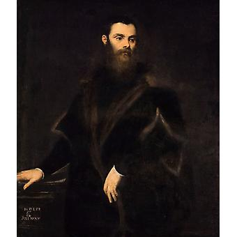 Lorenzo Soranzo, Tintoretto, 50x43cm