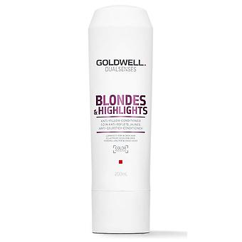 Goldwell Dual spürt Blondine & hebt Anti-gelb Conditioner 200 ml