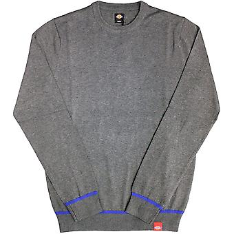 Dickes Auburn Strickpullover Dark Grey Melange