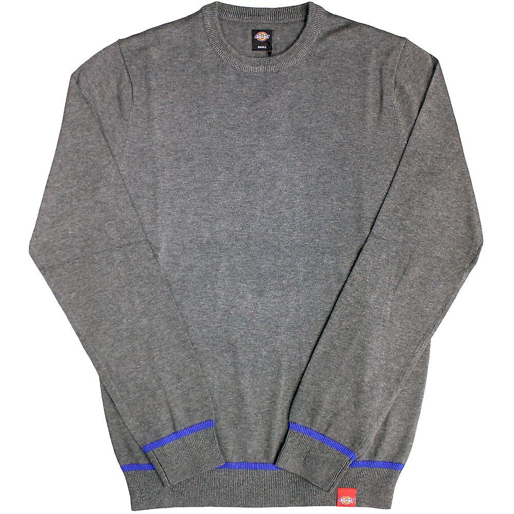 Dickes Auburn strikk genser mørk grå blanding