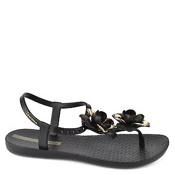 Ipanema Floral Black Special Rubber Sandal